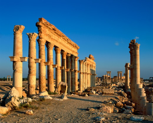 Stock Photo: 1269-1923 Great Colonnade