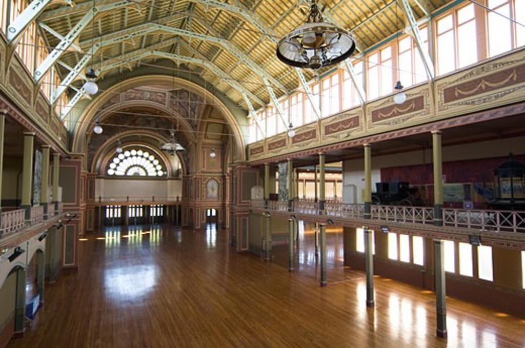 Stock Photo: 1269-2277 Interior of a building, Royal Exhibition Building, Melbourne, Australia