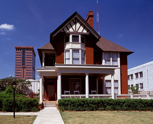 Stock Photo: 1269-615 Facade of a museum, Margaret Mitchell House and Museum, Atlanta, Georgia, USA