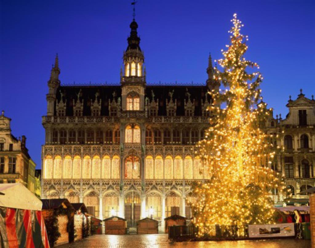 King's House (Maison du Roi) Grand Place, Brussels, Belgium : Stock Photo