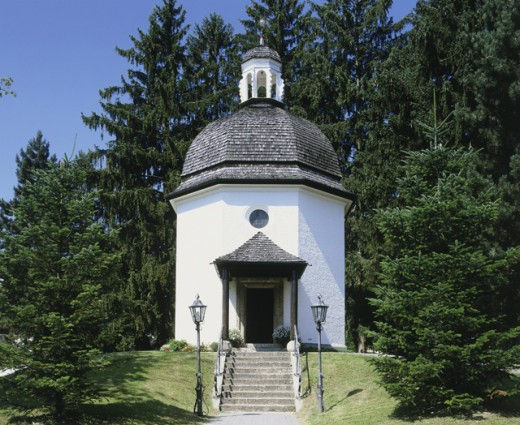 Stock Photo: 1269-742A Silent Night Memorial Chapel, Oberndorf, Austria
