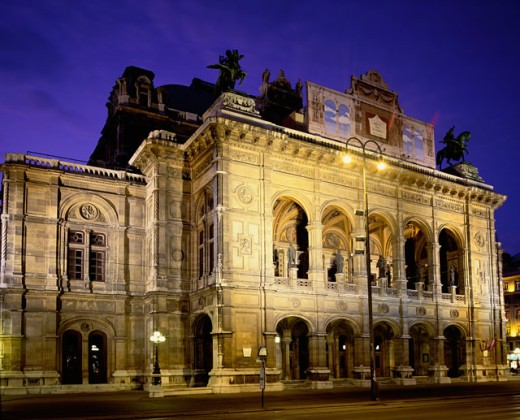 Stock Photo: 1269-771 Vienna State Opera House, Vienna, Austria