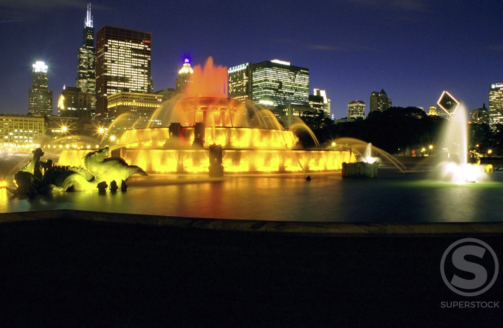 Stock Photo: 1280-142 Buckingham Fountain