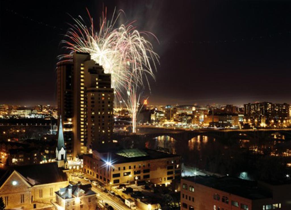 Minneapolis Minnesota USA : Stock Photo