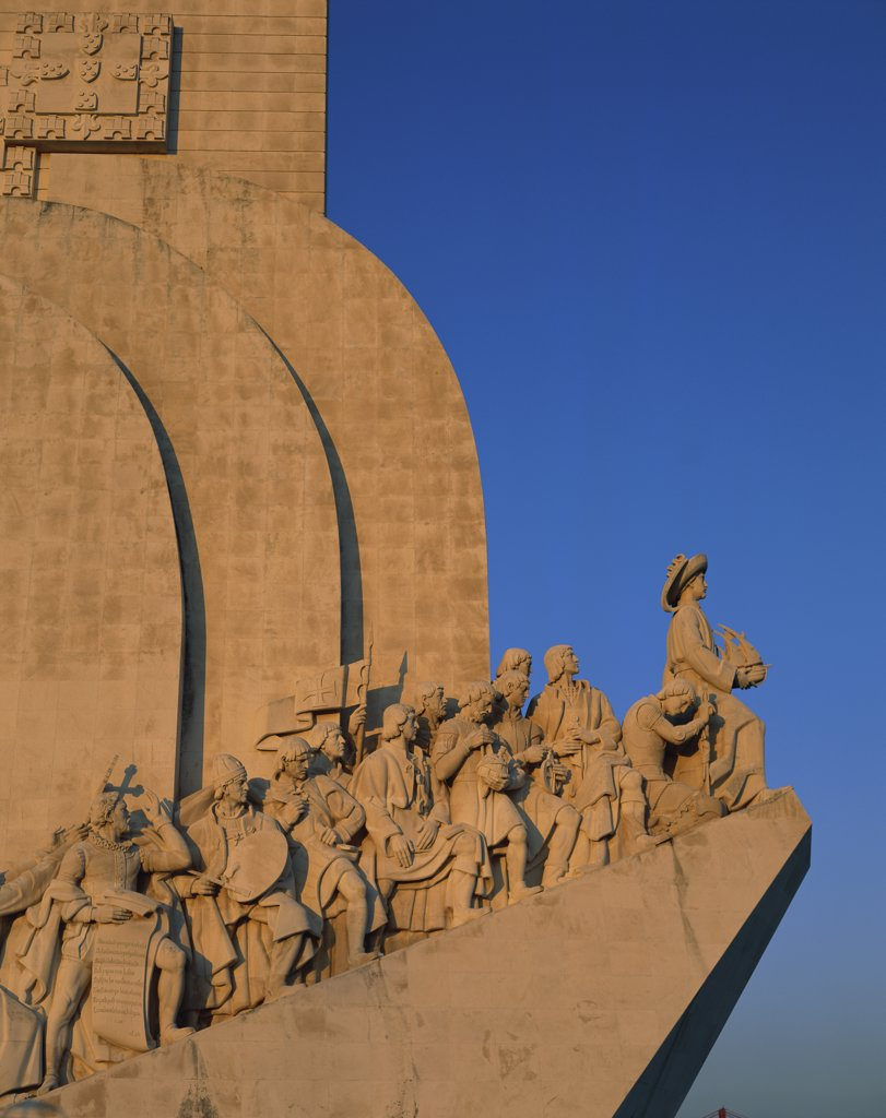 Stock Photo: 1288-1273 Monument to the Discoveries 