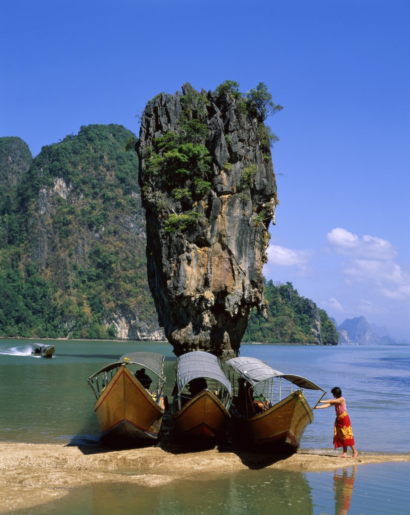 Stock Photo: 1288-166 James Bond Island, Phuket, Thailand