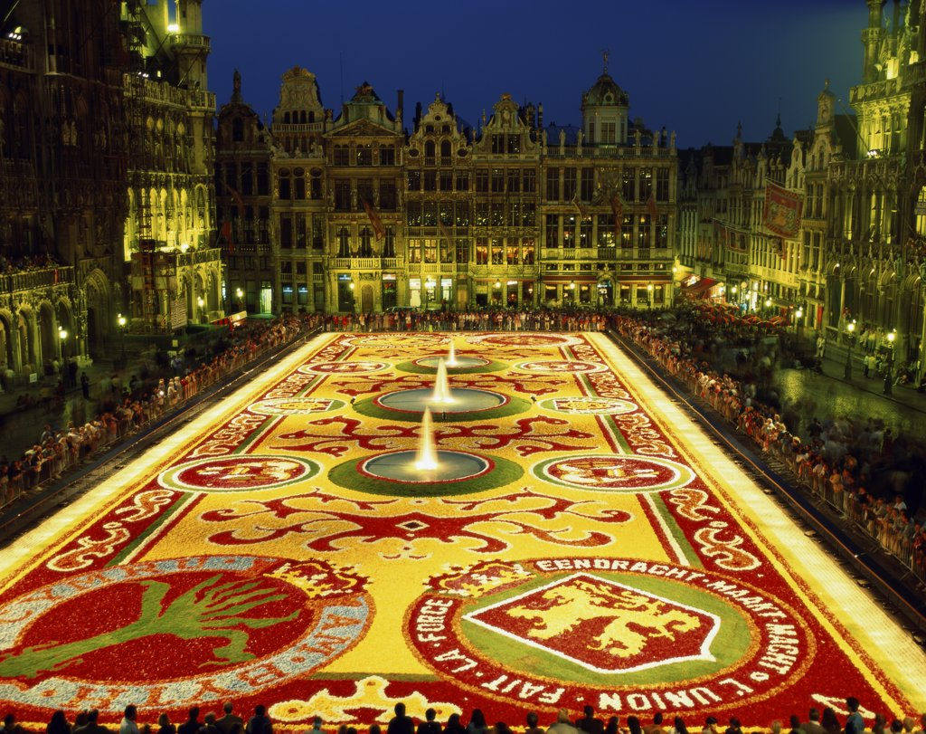 Grand Place, Brussels, Belgium : Stock Photo