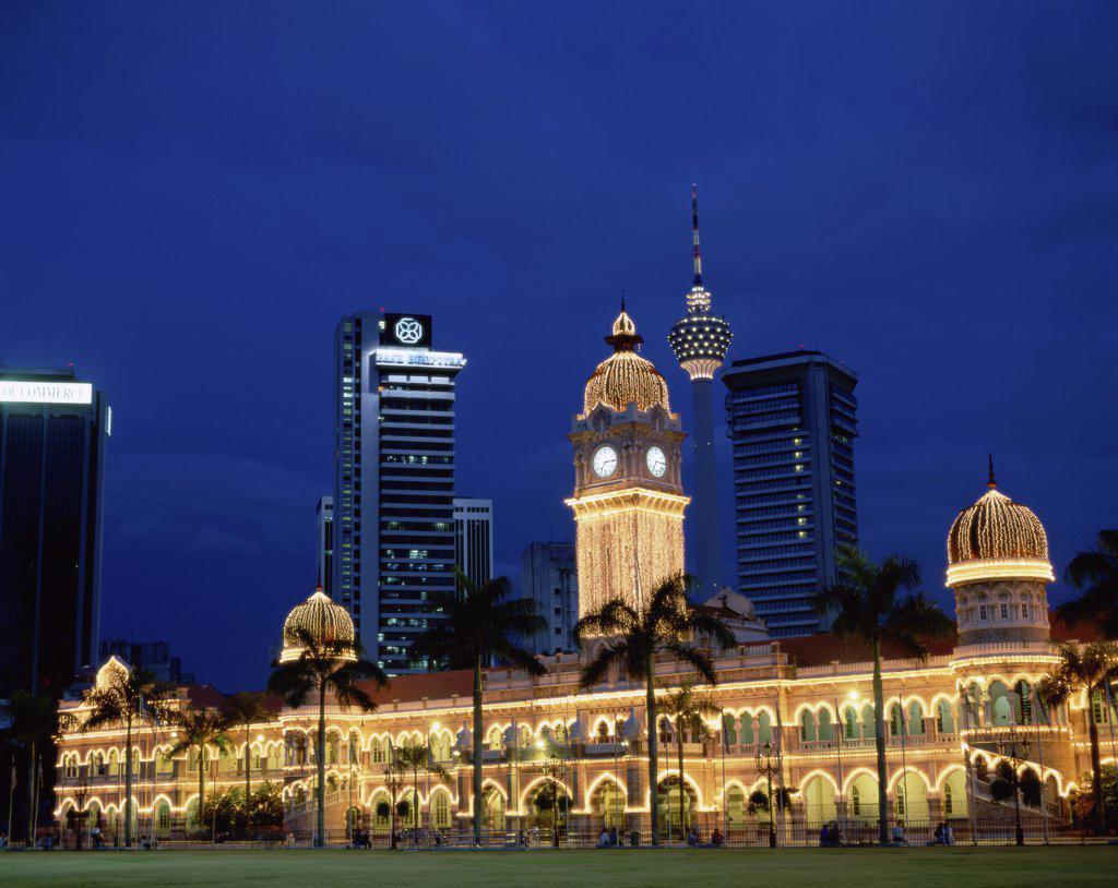 Stock Photo: 1288-238 Sultan Abdul Samad Building Kuala Lumpur Malaysia