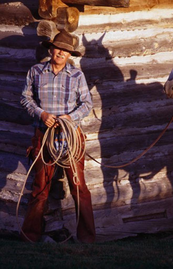 Stock Photo: 1308-435 Dayton Wyoming USA