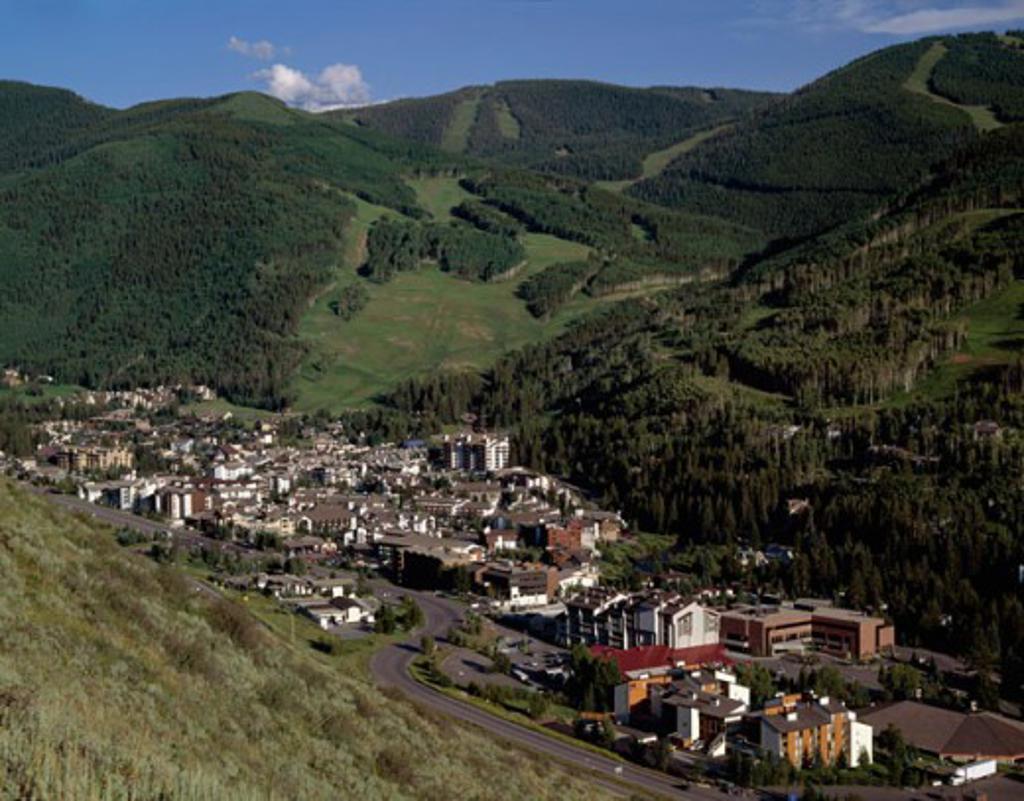 Stock Photo: 1308-451 Vail Colorado USA
