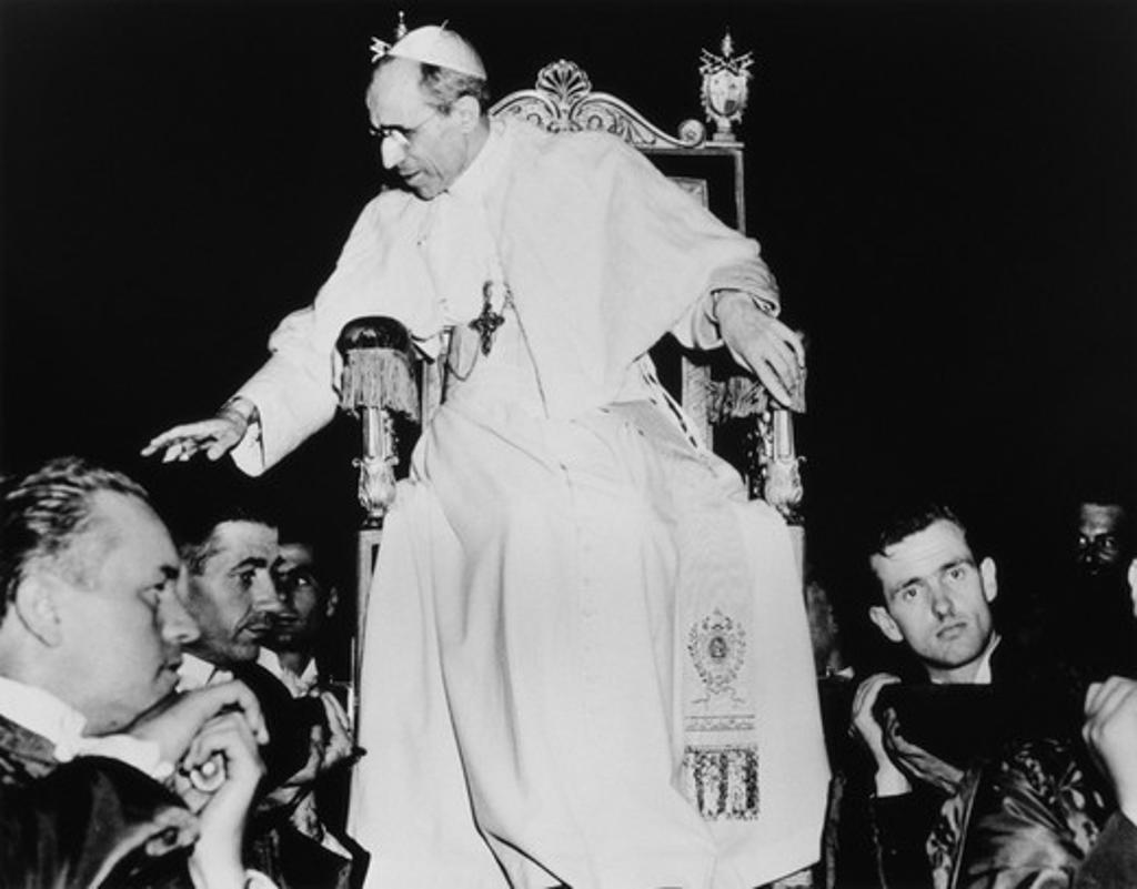 Stock Photo: 1308-514 Pope Pius XII Vatican City 1945