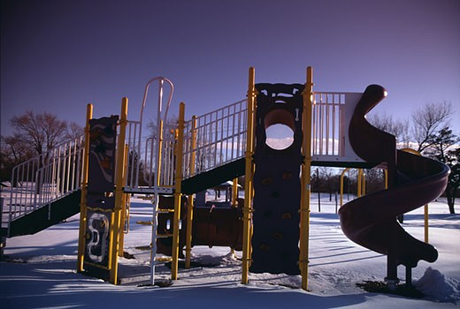 Stock Photo: 1308-555 Jungle gym in a park