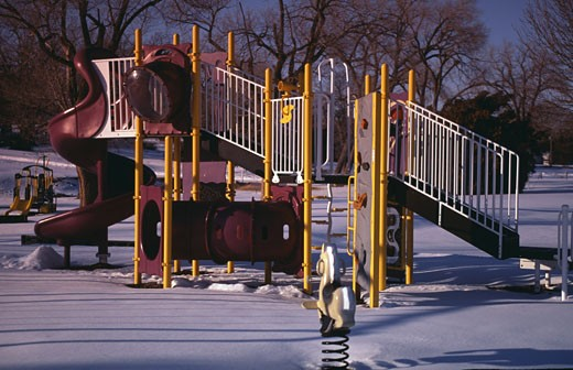 Stock Photo: 1308-557 Jungle gym in a park