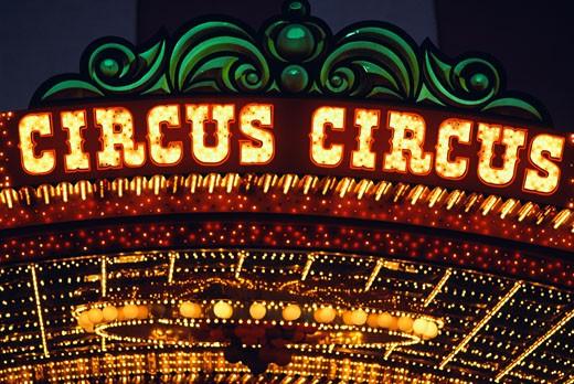 Stock Photo: 1311-1085 Circus Circus Hotel and Casino Las Vegas Nevada USA
