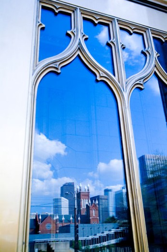 Close-up of a window, Atlanta, Georgia, USA : Stock Photo