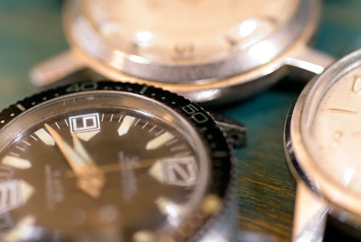 Close-up of watches : Stock Photo