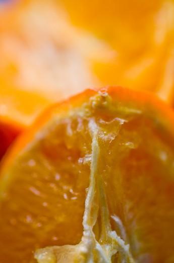Fresh orange, studio shot : Stock Photo