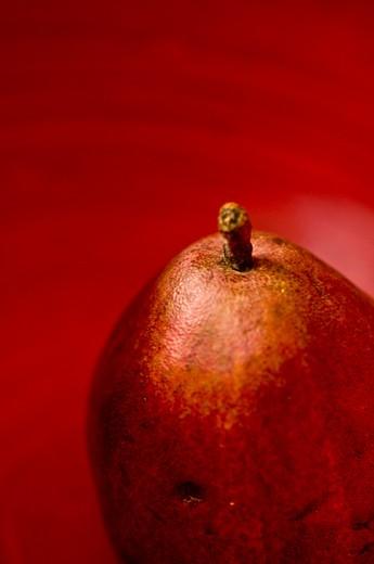 Pear, studio shot : Stock Photo