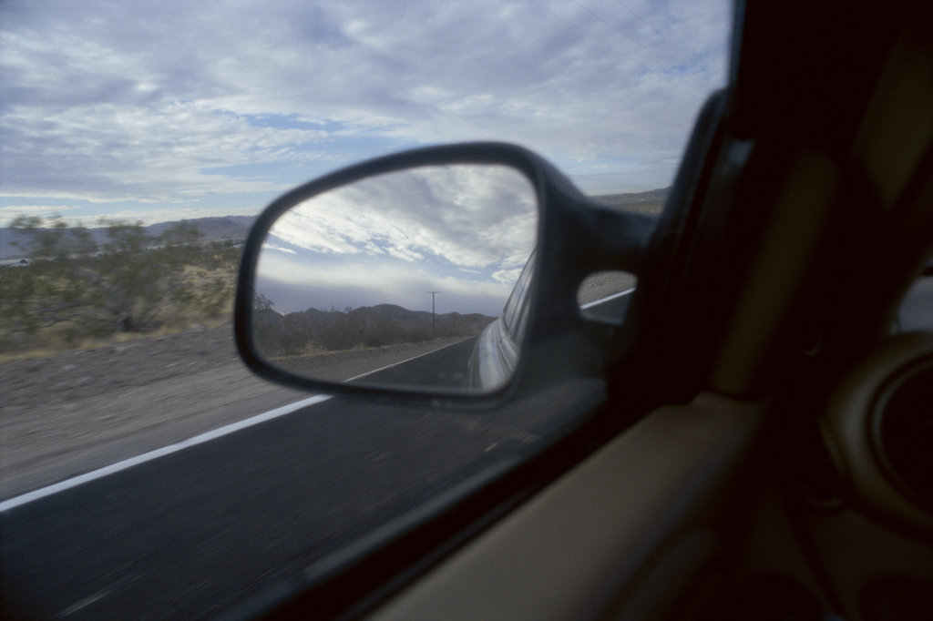 Stock Photo: 1311-973B Route 66 Near Barstow California USA