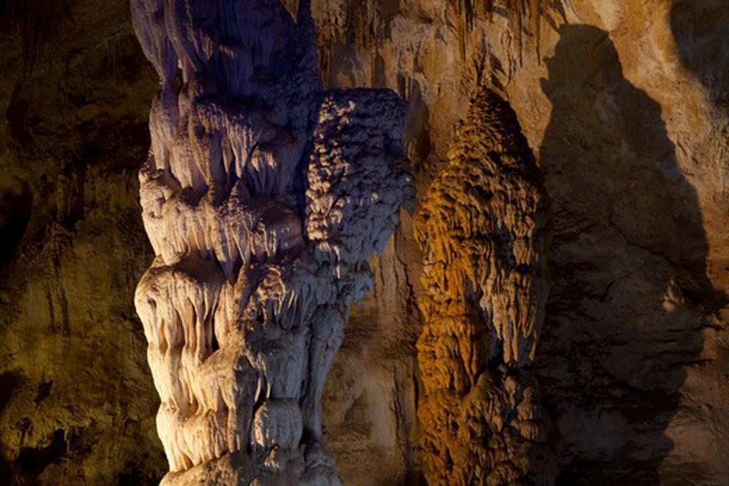 Stock Photo: 1317-1092 USA, New Mexico, Carlsbad Caverns National Park, Carlsbad Caverns
