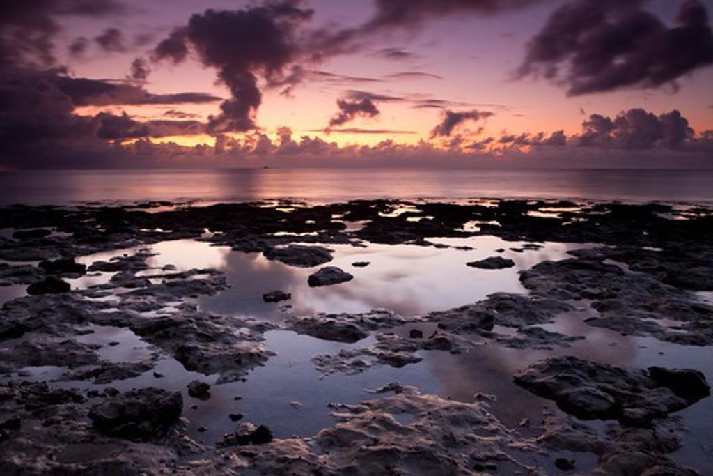 Sunlight on the beach, Bahia Honda Key, Florida, USA : Stock Photo