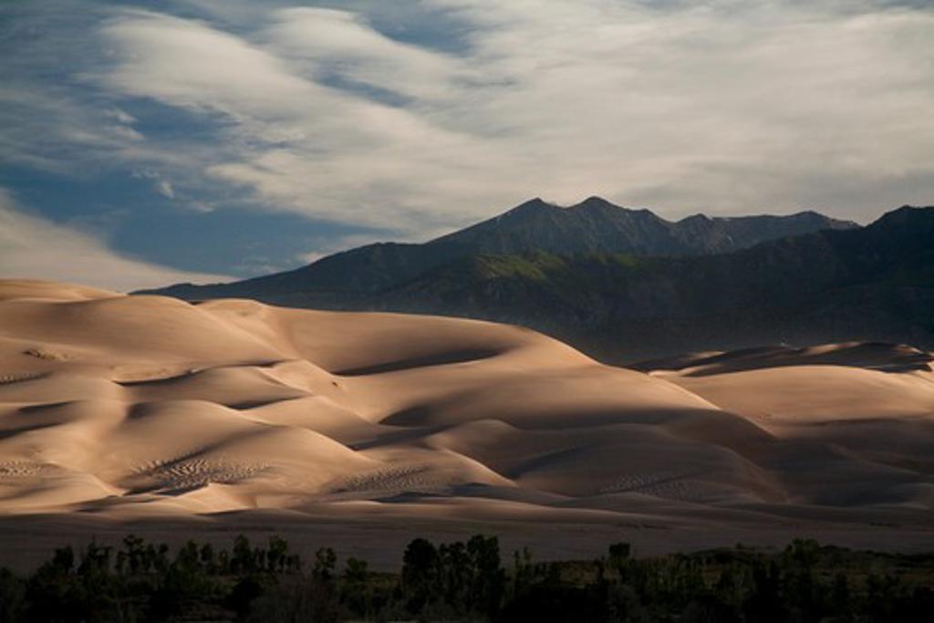 Stock Photo: 1317-463B Great Sand Dunes National Park, Colorado, USA