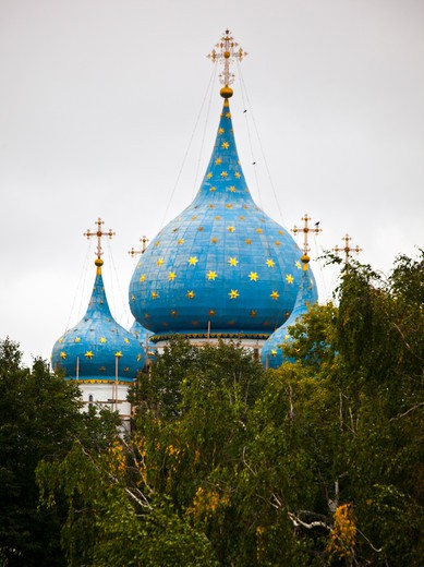 Low angle view of Kremlin, Suzdal, Russia : Stock Photo