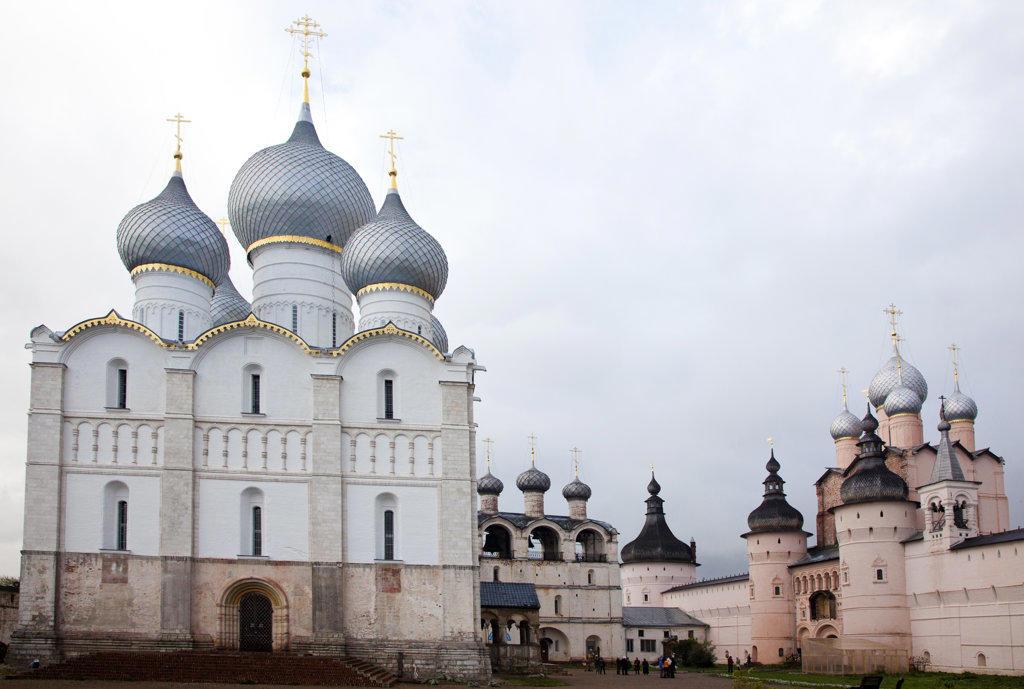 Stock Photo: 1323-1718 Rostov Kremlin, Kremlin, Rostov, Russia