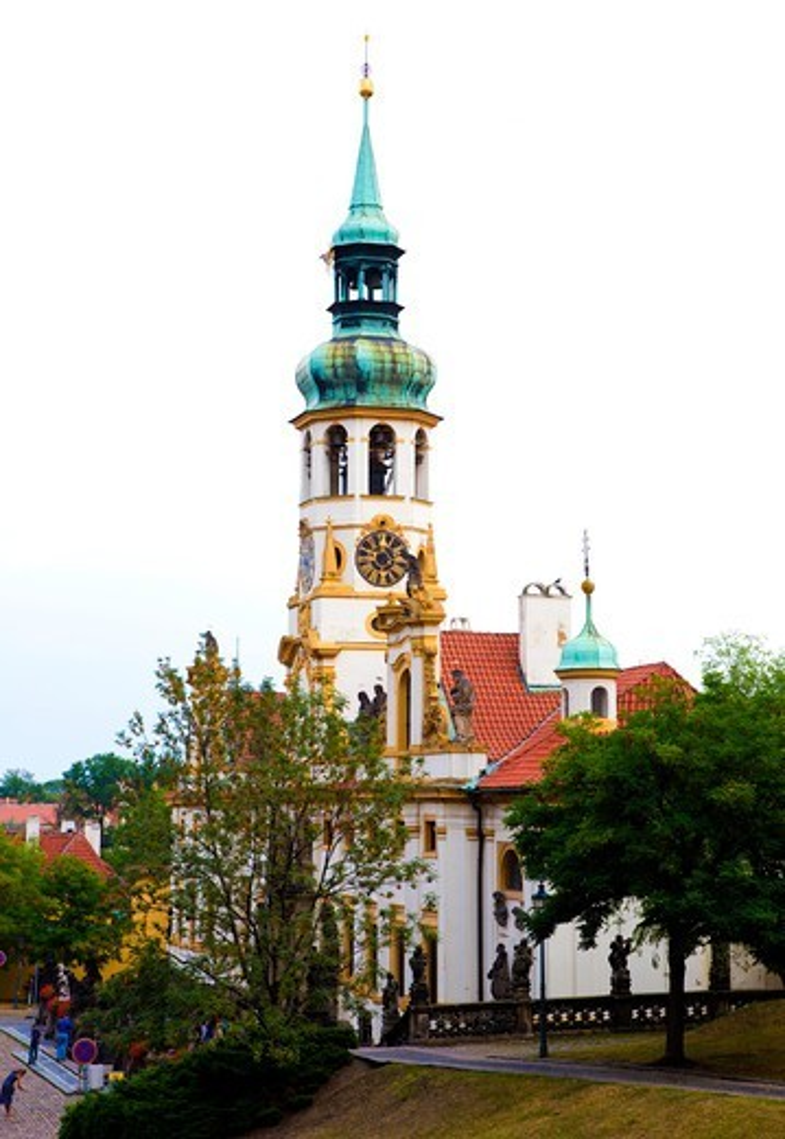 Stock Photo: 1323-2575 Czech Republic, Prague, View of Loreto Monastery in Mala Strana