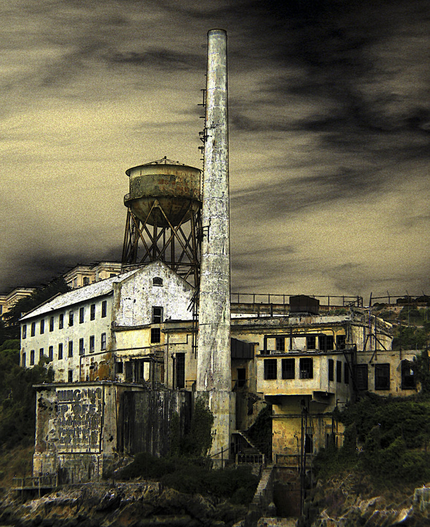 Stock Photo: 1323-422 Alcatraz, San Francisco, California, USA