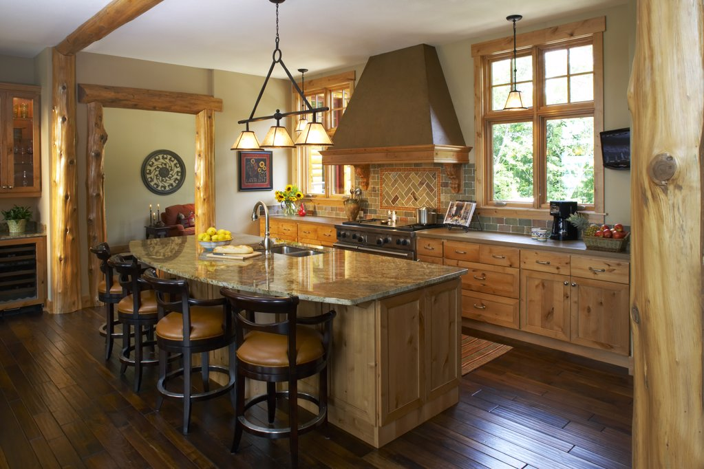 Stock Photo: 1329-1364 Interiors of a domestic kitchen