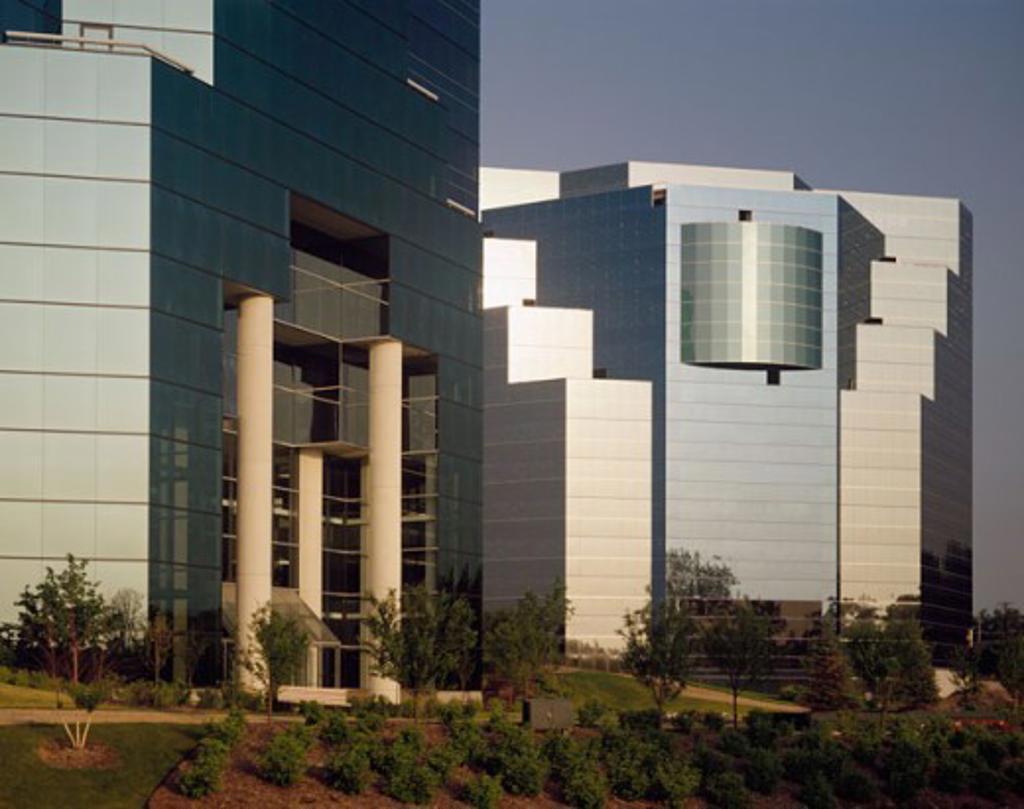 Stock Photo: 1329-140 Facade of an office building
