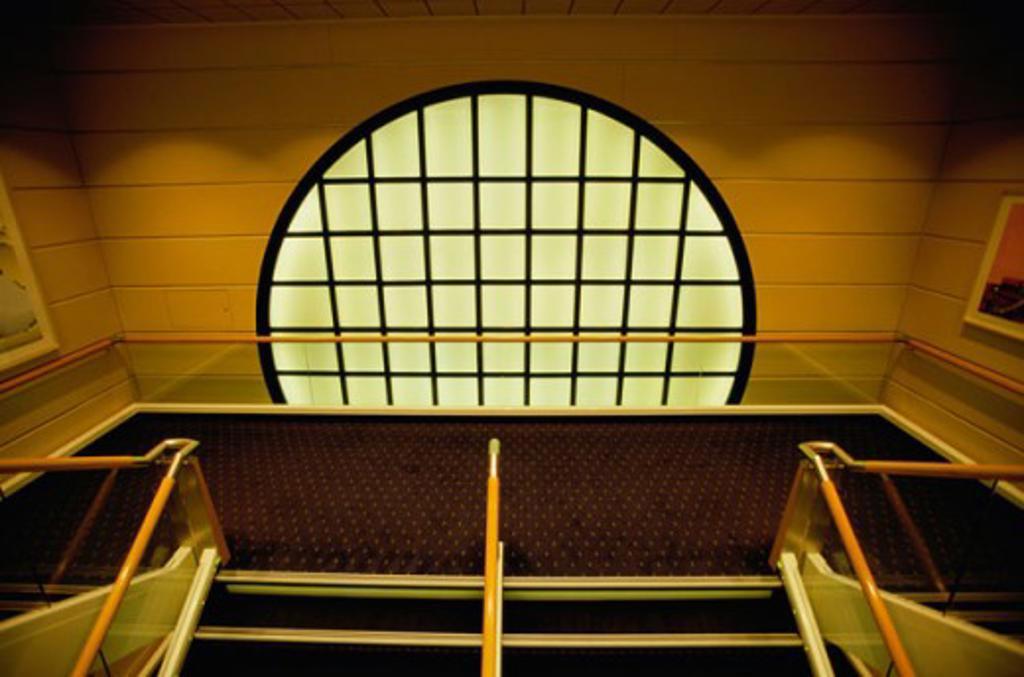 Stock Photo: 1329-W763 Interior of a cruise ship