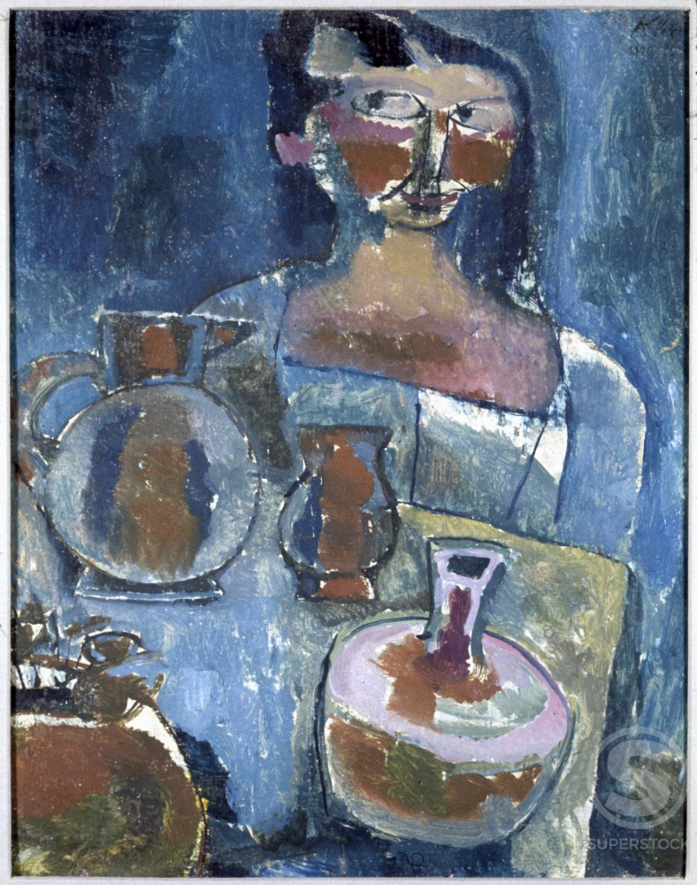 Stock Photo: 1330-1004 Girl With Pitchers