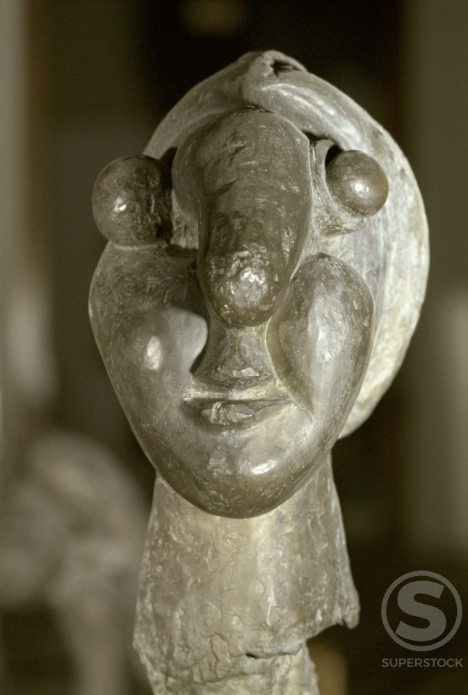 Stock Photo: 1330-1182 Head Of Woman by Pablo Picasso, 1932, 1881-1973