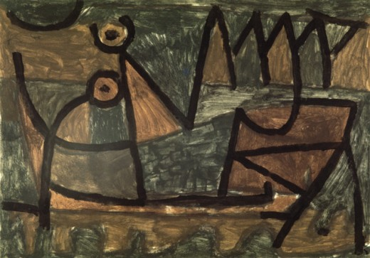 Stock Photo: 1330-1225 Obscure Voyage By Boat