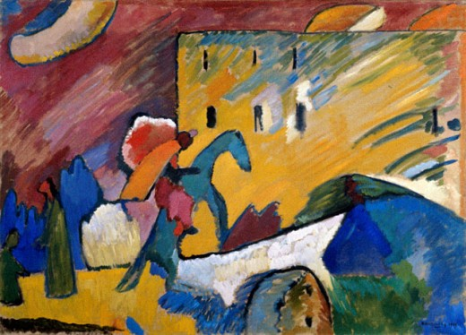 Stock Photo: 1330-1241 Improvisation III by Vasily Kandinsky, 1909, 1866-1944