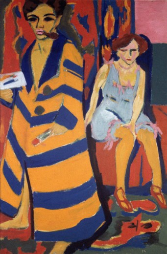Self Portrait With Model
