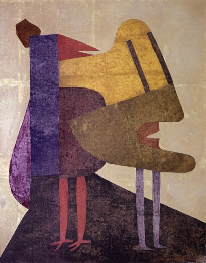 Stock Photo: 1330-1278 Silent Light by Victor Brauner, 1964, 1903-1966, Private Collection