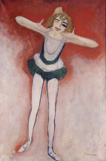 One-Eyed Dancer by Kees van Dongen, 1905, 1877-1968, France, Paris, Private Collection : Stock Photo