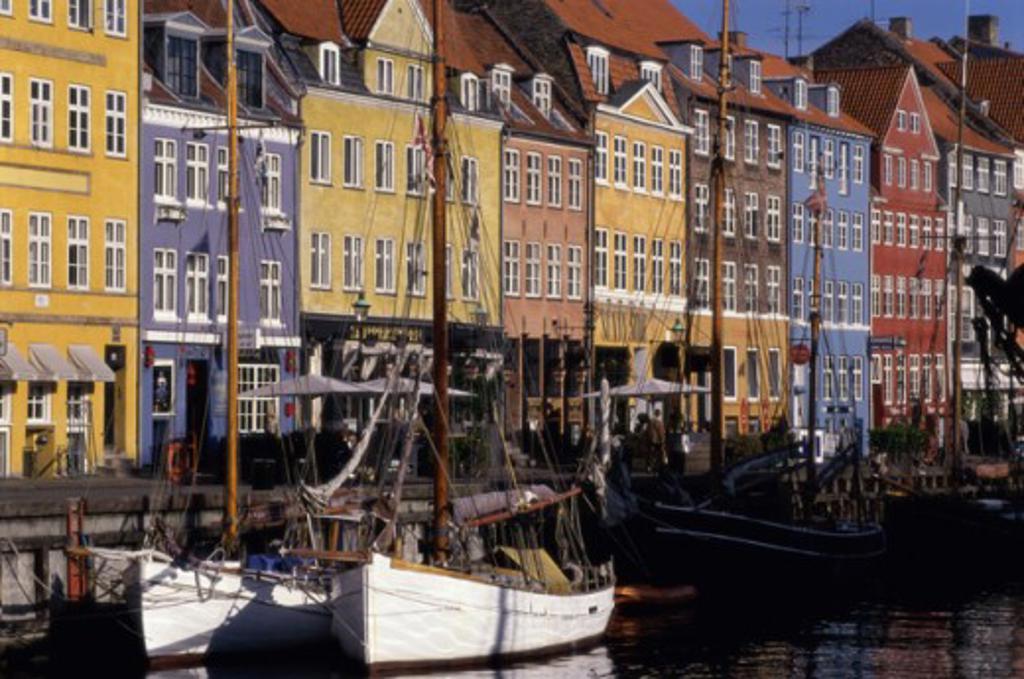 Stock Photo: 1332-152 Nyhavn Copenhagen Denmark