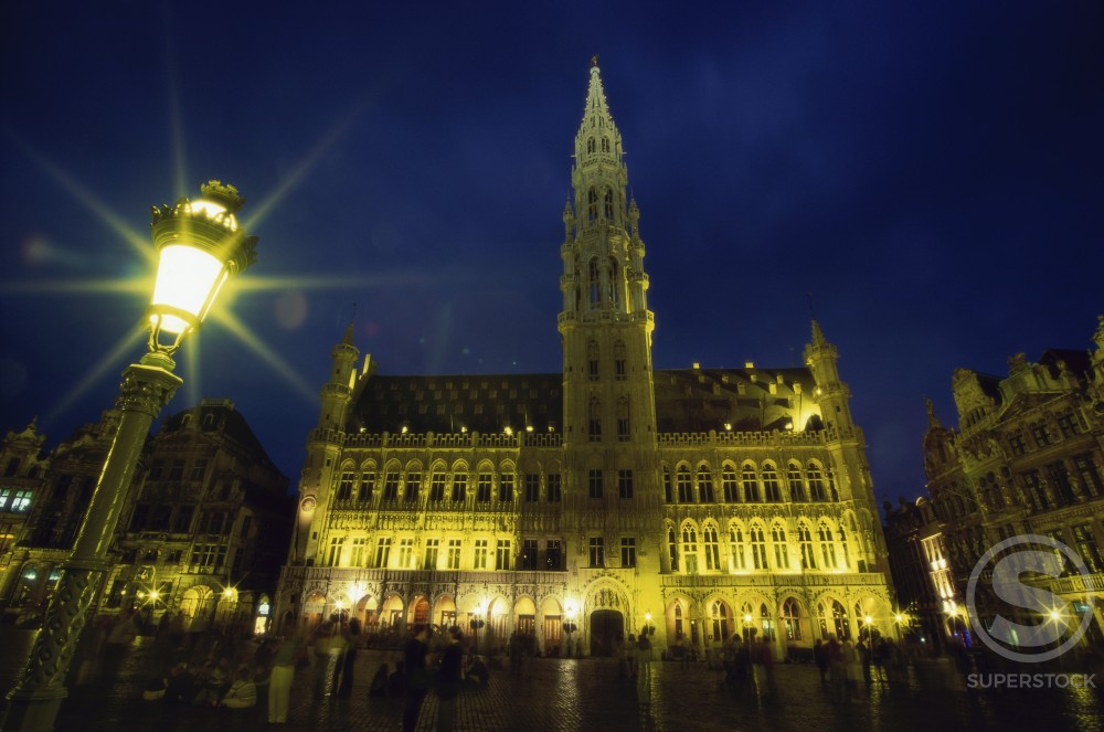 Stock Photo: 1332-153 Town Hall
