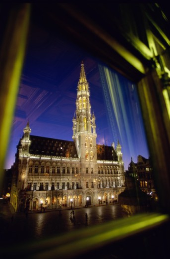 Stock Photo: 1332-159 Town Hall