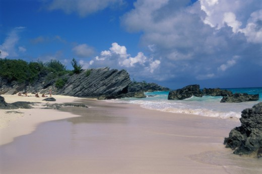 Stock Photo: 1336-604 Horseshoe Bay Beach