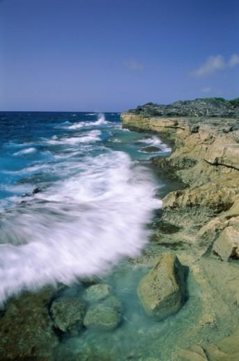 Spittal Pond Nature Reserve Bermuda : Stock Photo