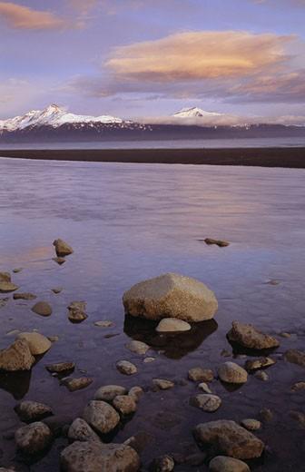 Cook Inlet Alaska USA : Stock Photo