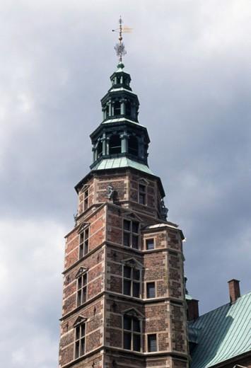 Low angle view of a castle, Rosenborg Castle, Copenhagen, Denmark : Stock Photo