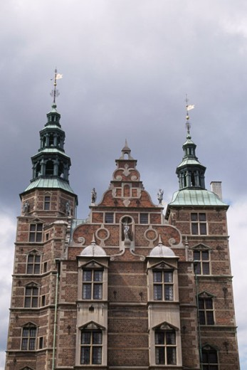 Stock Photo: 1344-318 Low angle view of a castle, Rosenborg Castle, Copenhagen, Denmark