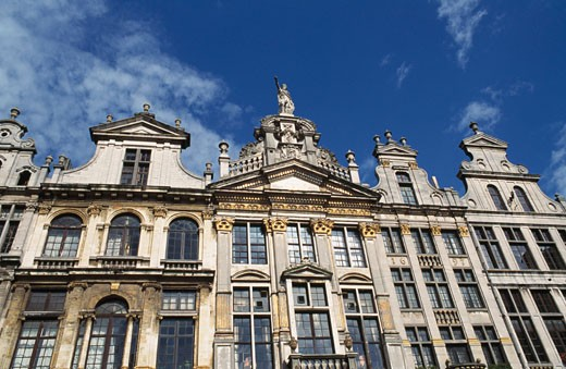 Stock Photo: 1344-798B Low angle view of a building, Grand Place, Brussels, Belgium