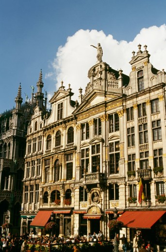 Stock Photo: 1344-805C Low angle view of a building, Grand Place, Brussels, Belgium